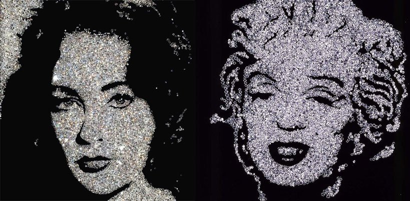 VIK MUNIZ – Diamond Hollywood // KunstTachometer