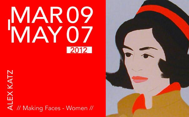 ALEX KATZ // Making Faces – Women // KunstTachometer