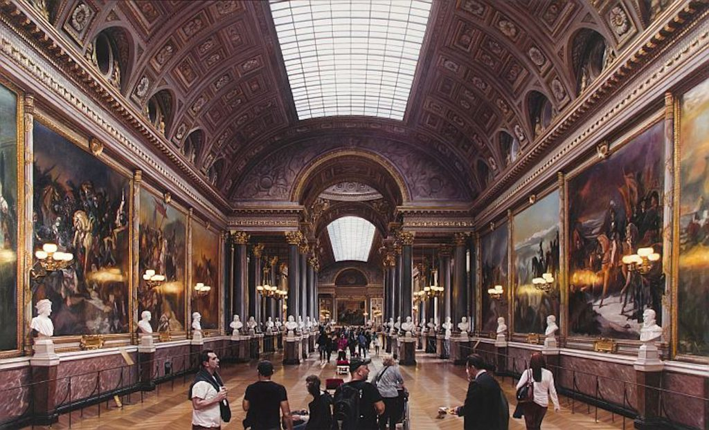 LARS REIFFERS – Versailles – Paintings // Klonaris Fine Art
