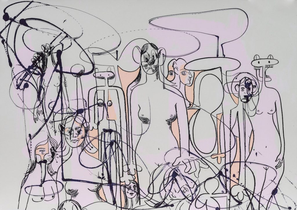 GEORGE CONDO – Works on Paper // Klonaris Fine Art