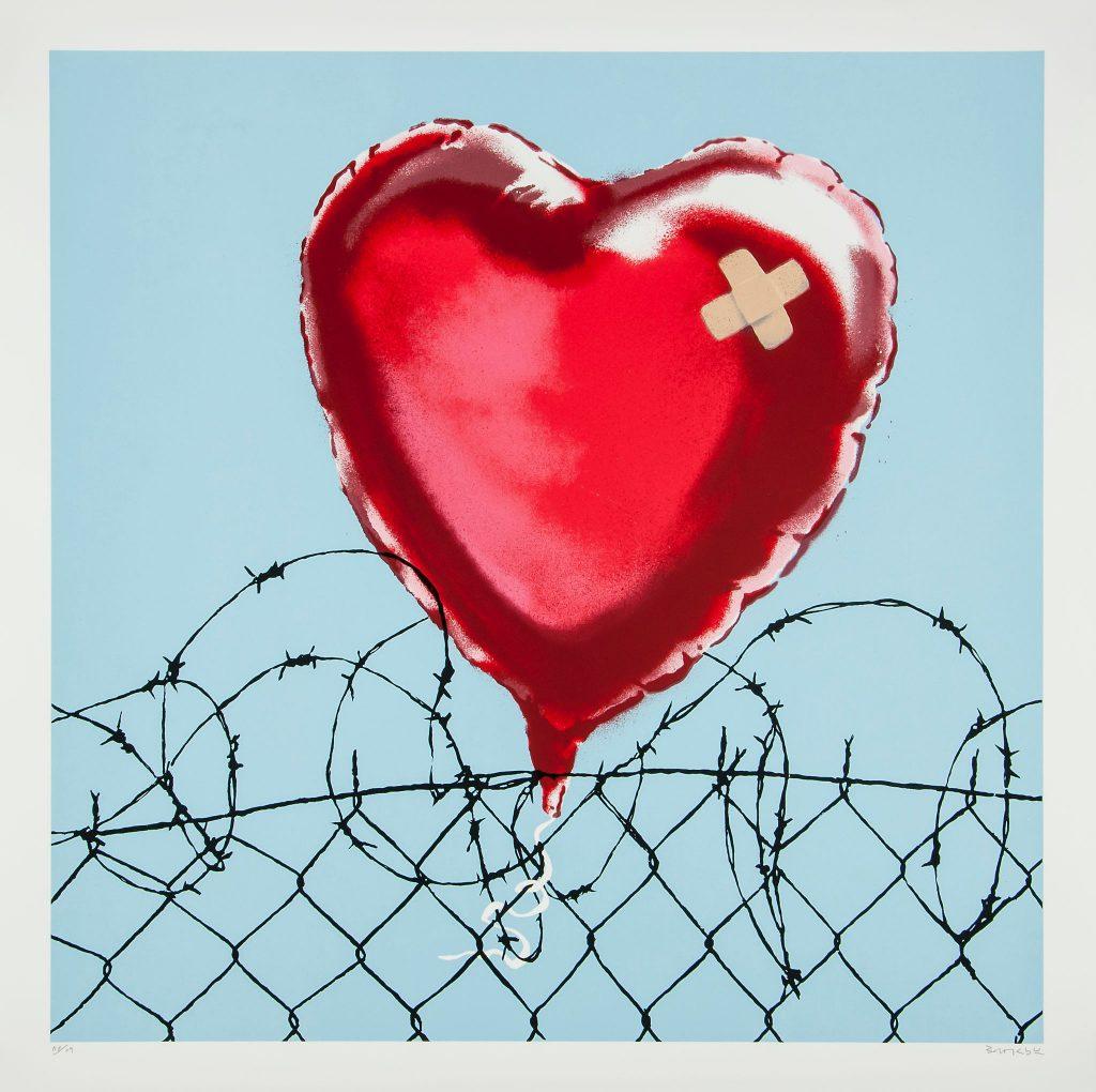 BANKSY – Love Hurts // KunstTachometer