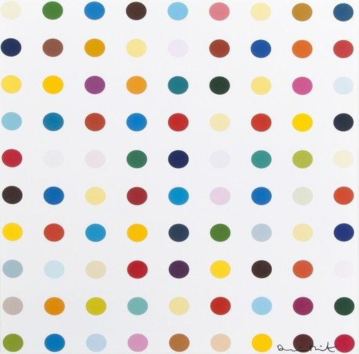 DAMIEN HIRST – Opium – Works on Paper // Klonaris Fine Art