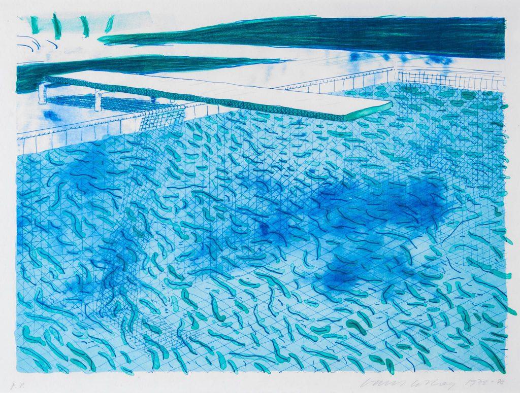 DAVID HOCKNEY // Swimming Pool // KunstTachometer