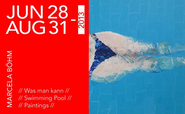 MARCELA BÖHM // Swimming Pool // Klonaris Fine Art