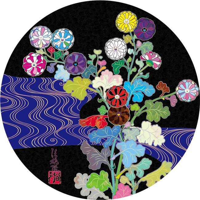 TAKASHI MURAKAMI – Flowers In Heaven // Klonaris Fine Art