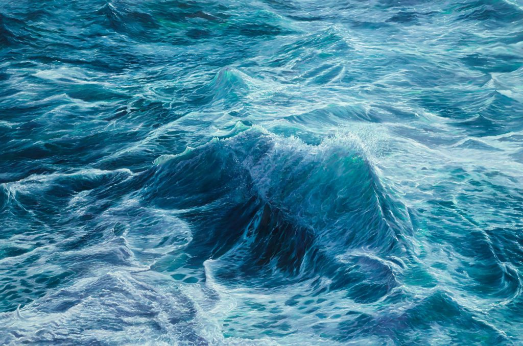 LARS REIFFERS – Sea Paintings // Klonaris Fine Art