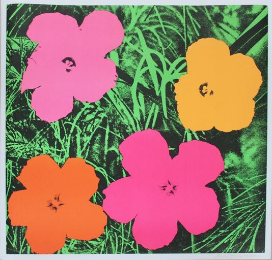 ANDY WARHOL // Flowers // KunstTachometer