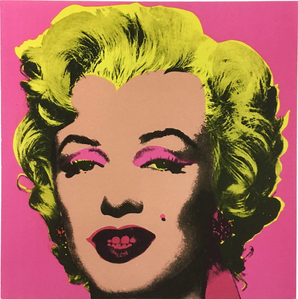 ANDY WARHOL – Dear Marilyn // Klonaris Fine Art