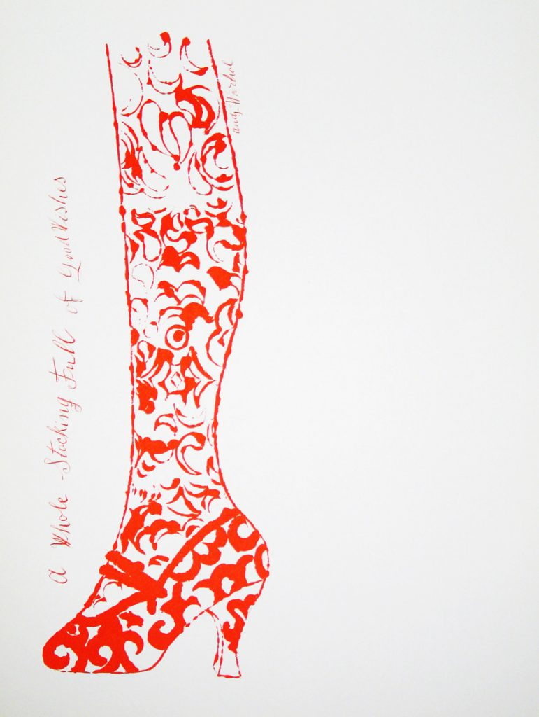 ANDY WARHOL – Any One for Shoes? // KunstTachometer